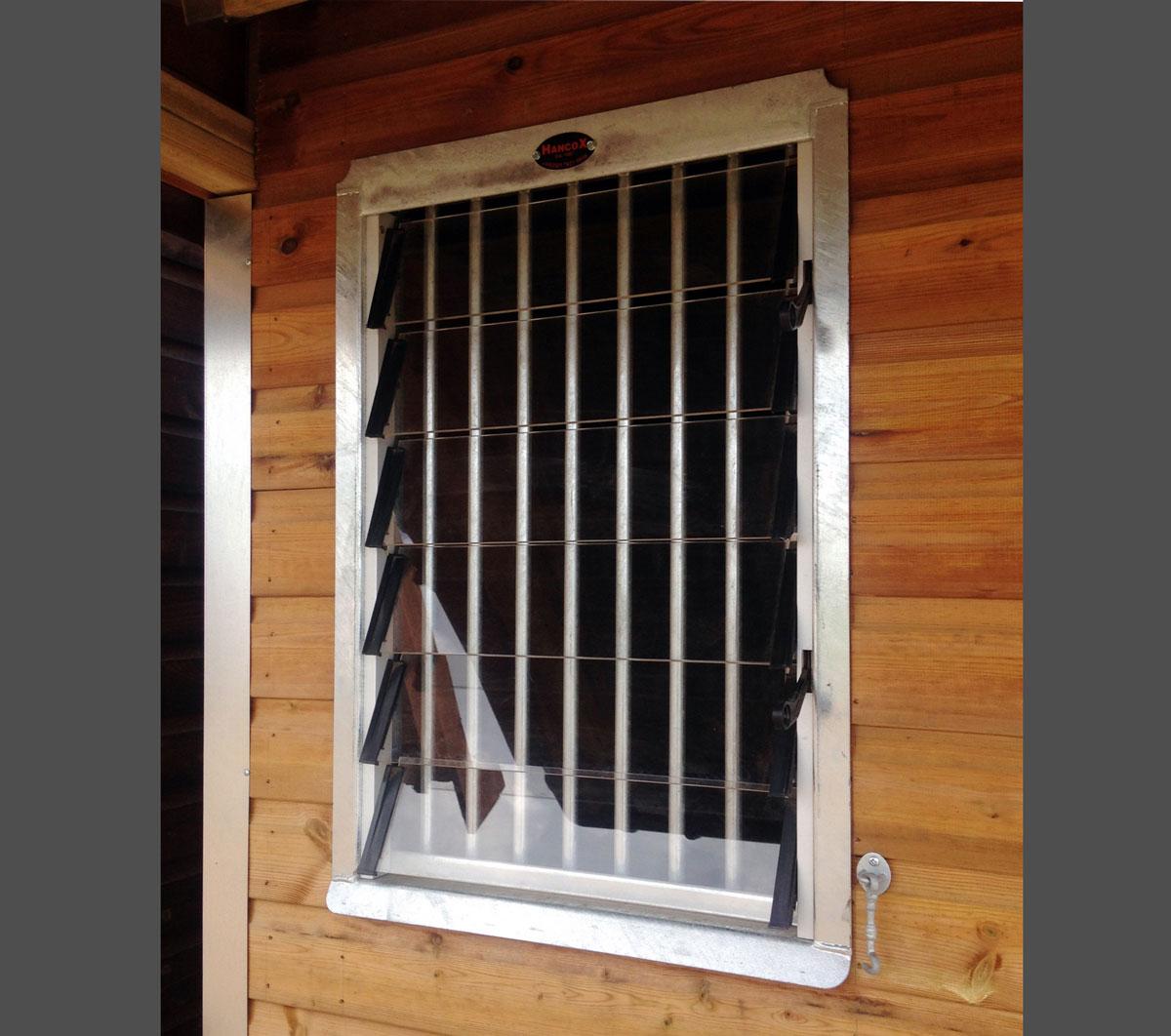 Fixed Louvre Windows Hancox Equestrian