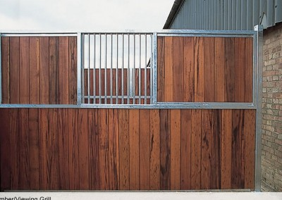 All Timber with Viewing Grille Division