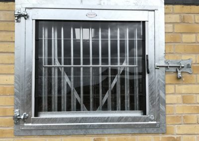 Hinged Grille Window - Closed