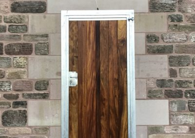 Tack Room Door in Hardwood