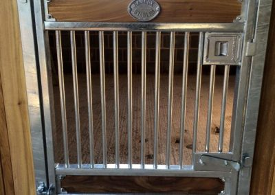 Full Height Pony Door with Viewing Grille