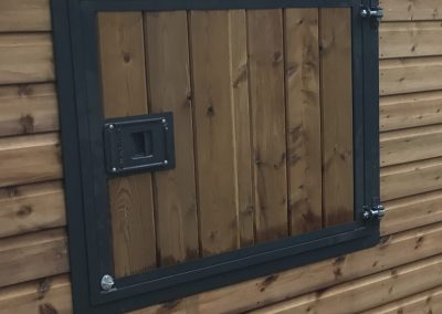 Top Door Powder Coated in Softwood
